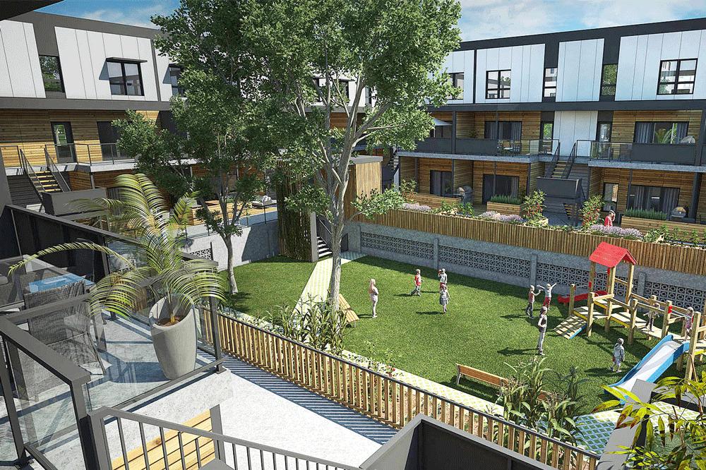 Maisons de ville vendre maisons la pointe aux for Architecture equilibre